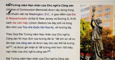 """Mỹ lập đài tưởng niệm """"nạn nhân của chủ nghĩa cộng sản"""": Khi trò giả giệu được nâng tầm"""