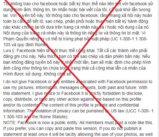Nhiều người dùng Facebook Việt sập bẫy trò lừa đảo cũ