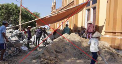 Hà Tĩnh: Linh mục Hoàng Xuân Hường ngang nhiên lấn chiếm, xây dựng công trình trái phép