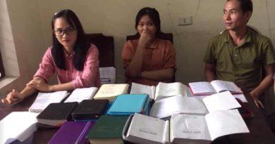 """Thành phố Vinh: Phát hiện nhóm luyện tà đạo """"Hội thánh đức chúa trời mẹ"""""""